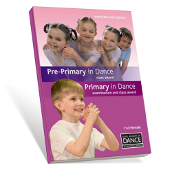 Exercise Book - Pre-Primary in Dance & Primary in Dance